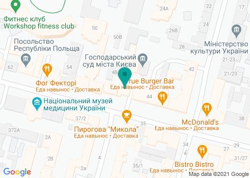 Детская поликлиника Шевченковского района Киева, Филиал №7 КНП «КДЦ» - на карте