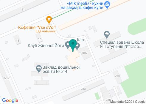 Детская поликлиника №2 Деснянского района г. Киева, Стоматологическое отделение - на карте