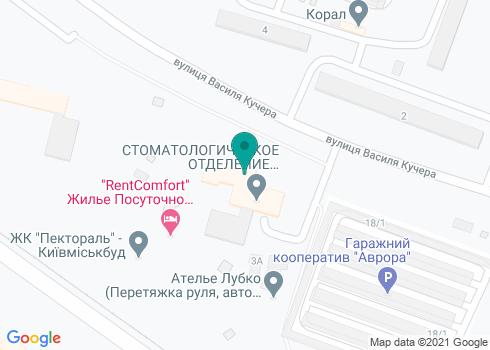 Детская поликлиника №2 Святошинского района г. Киева, Стоматологическое отделение - на карте
