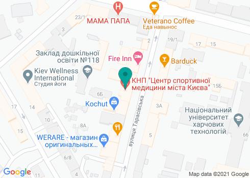 Киевский центр спортивной медицины (КЦСМ), Стоматологическое отделение - на карте