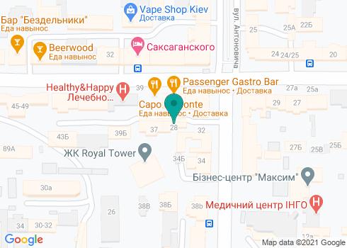 Клиника ортогнатической хирургии «OrthoGO» - на карте