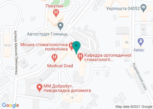 Киевская городская стоматологическая поликлиника - на карте