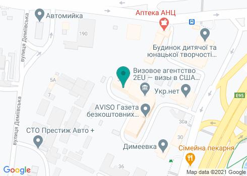 Медицинский центр стоматологии и косметологии «Айрис-Лайф» - на карте