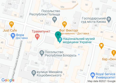 Поликлиника №1 Шевченковского района (Стоматологическое отделение) - на карте