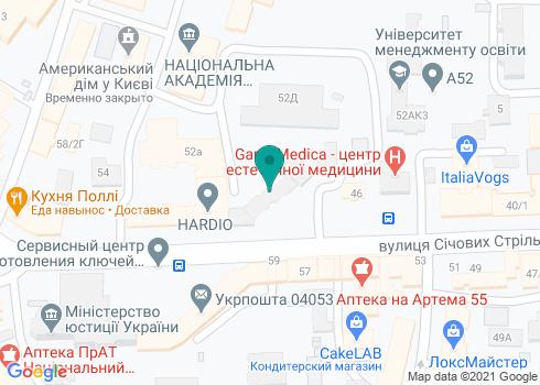 Ортодонтический центр «ЮВИС» - на карте
