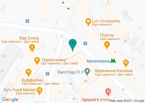 Поликлиника №1 Печерского района (Стоматологическое отделение) - на карте