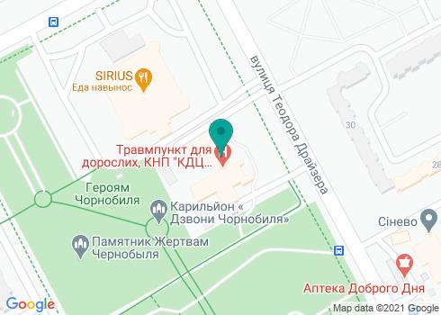 Зубная поликлиника №2 Деснянского района, Стоматологическое отделение - на карте