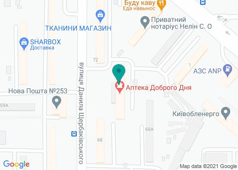 Поликлиника № 5 Шевченковского района, Стоматологическое отделение - на карте