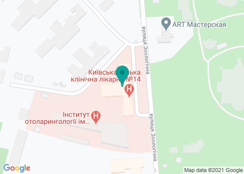 Поликлиника №4 Шевченковского района, Стоматологическое отделение - на карте