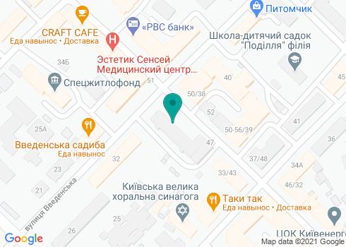 Поликлиника №3 Подольского района, Стоматологическое отделение - на карте