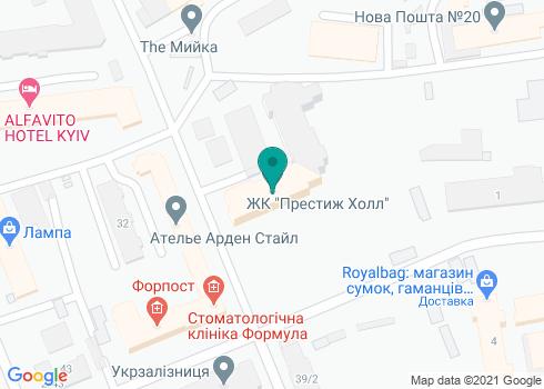 Стоматологическая клиника «Аванто Престиж» - на карте