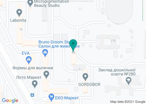 Стоматологическая клиника «Валентина-97» - на карте