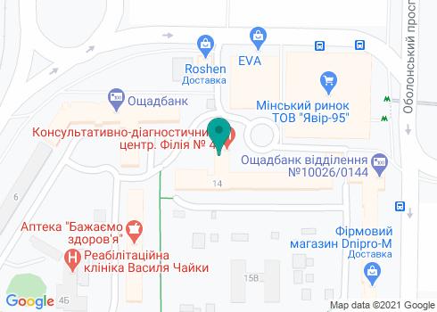 Стоматологическая клиника «Вистом» - на карте