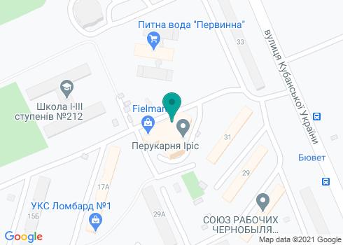 Стоматологическая клиника «Видентал» - на карте