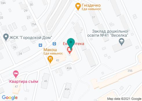 Стоматологическая клиника «Дельта-Дент» - на карте