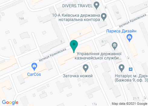 Стоматологическая клиника «Дент-Вайн» - на карте