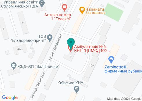 Стоматологическая клиника «Дент-Юниверсал» - на карте