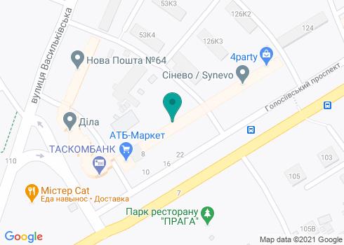 Стоматологическая клиника «Кринички» - на карте