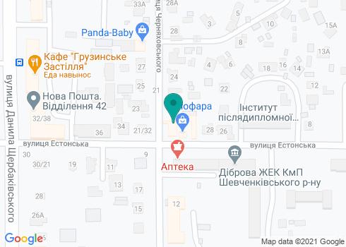 Стоматологическая клиника «Лыбидь» - на карте