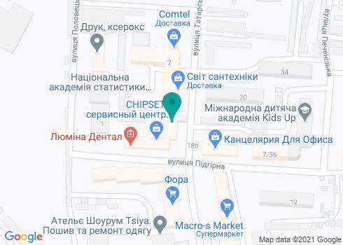 Стоматологическая клиника «Люмина Дентал» - на карте