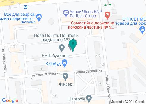 Стоматологическая клиника «Металлион» - на карте