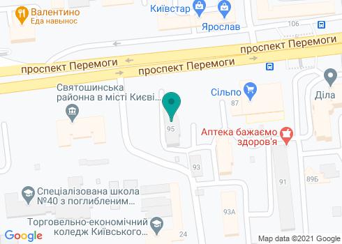 Стоматологическая клиника «Оксамит» - на карте