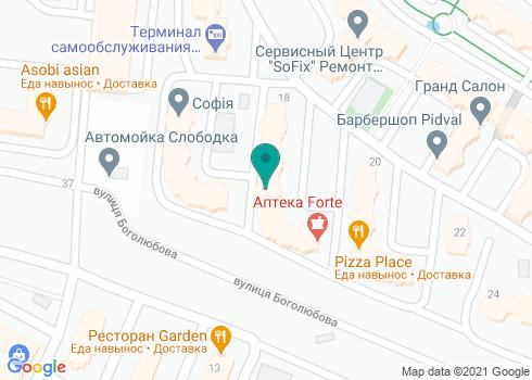 Стоматологическая клиника «Перлина» - на карте