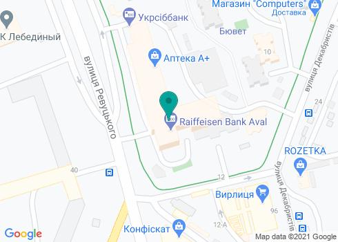 Стоматологическая клиника «Ритас» - на карте