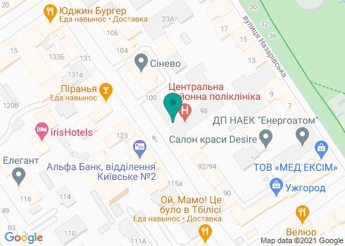 Стоматологическая клиника «Санти» - на карте