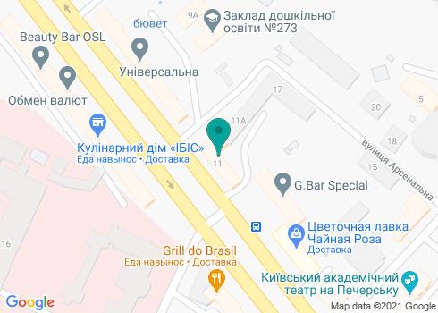 Стоматологическая клиника «Унимед-С» - на карте