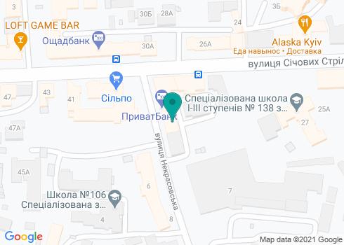 Стоматологическая клиника «Укрмединвест» - на карте