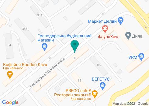 Стоматологическая клиника «Юникс» - на карте
