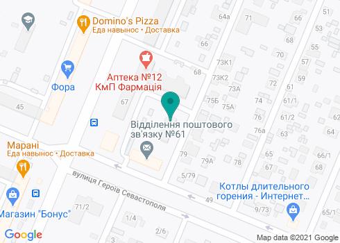 Стоматологическая клиника доктора Мельника - на карте