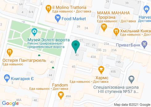 Стоматологическая клиника доктора Гашинского - на карте
