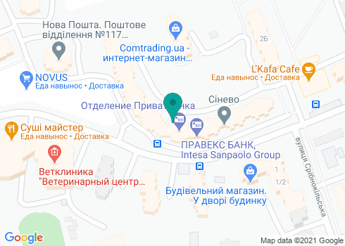 Стоматологическая клиника Воронюк - на карте