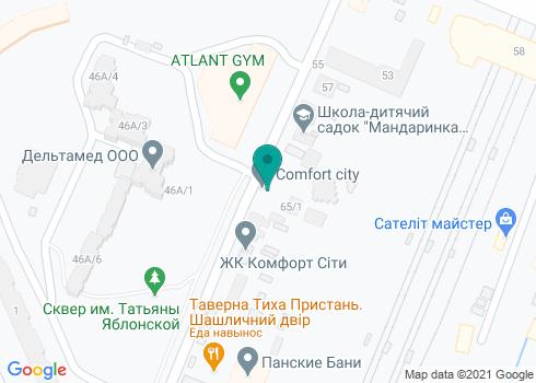 Стоматологическая клиника на Полевой - на карте