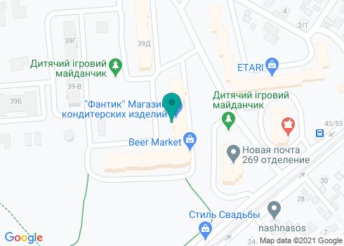 Стоматологический кабинет на Алма-Атинской - на карте