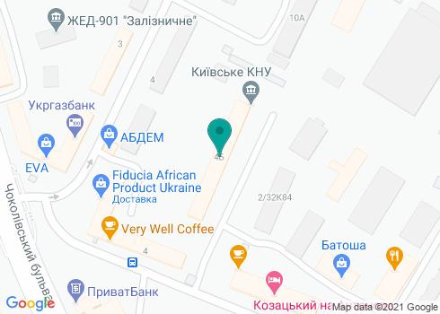Стоматологическая поликлиника №3 Соломенского района - на карте