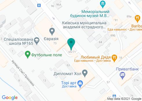 Стоматологический кабинет доктора Седого А.Л. - на карте