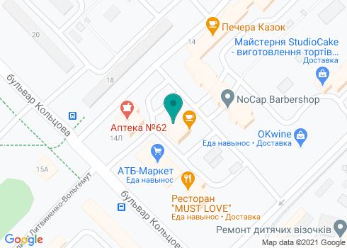 Стоматологический центр «Индент» - на карте