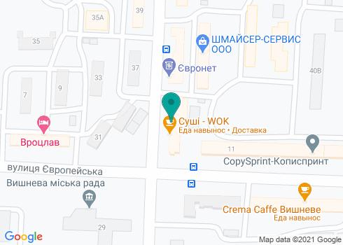 Стоматологический центр «Клиника доктора Петрищева» - на карте