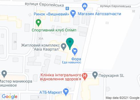 Стоматология доктора Герасименко А. С. - на карте