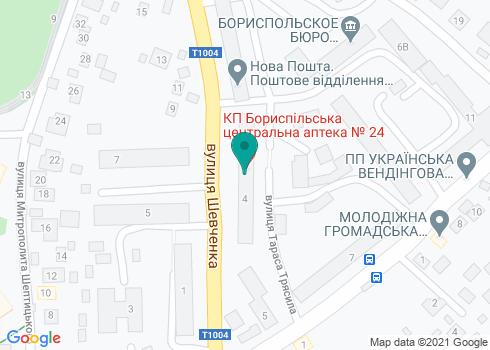 Стоматология на Шевченко - на карте