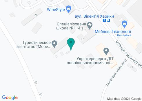 Стоматология на Кирилловской - на карте