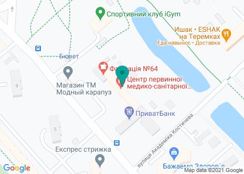 Филиал № 3, КНП «КДЦ» Голосеевского района - на карте