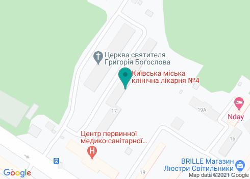 Филиал № 4, КНП «КДЦ» Соломенского района - на карте