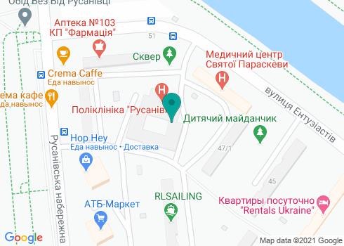 Центр Эстетической Медицины «Клиника доктора Запольской» - на карте