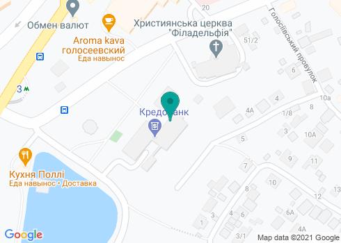Центральная детская поликлиника Голосеевского района, Стоматологическое отделение - на карте