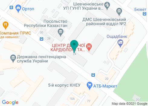 Центральная стоматологическая поликлиника Министерства обороны Украины (филиал) - на карте