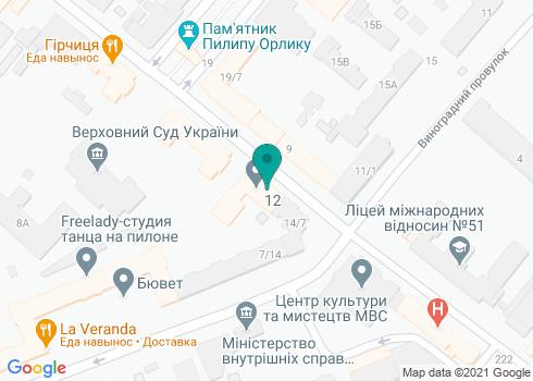 Центральная поликлиника МВД Украины, Отделение стоматологии - на карте